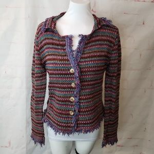 Relais knitware cardigan small